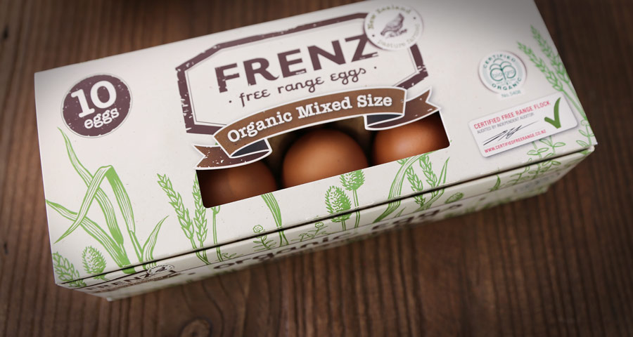 Frenz Packaging Design