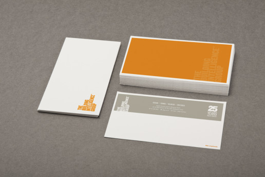 The Building Intelligence Group Stationery