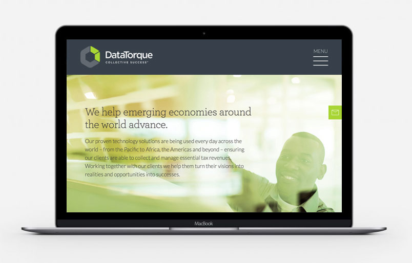 DataTorque Website Design