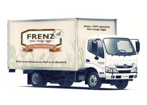 Frenz Free Range Eggs - Vehicle Signage